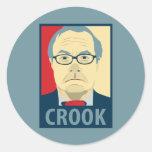 Barney Frank Hope Crook Stickers