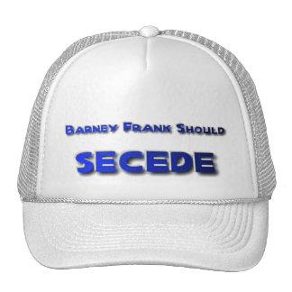 Barney Frank Secede Hats