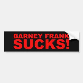 Barney Frank Sucks! Bumper Sticker