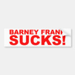 Barney Frank Sucks! Bumper Stickers