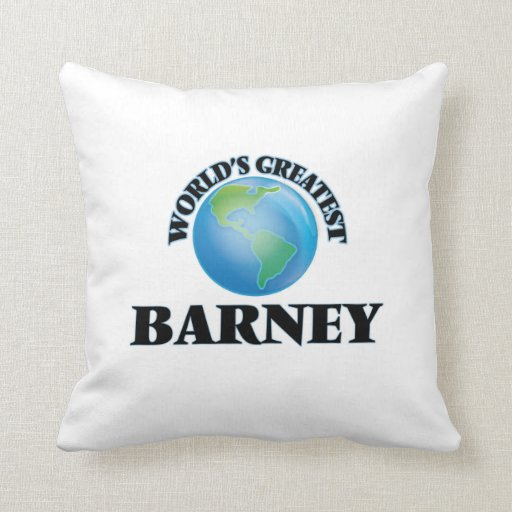 Barney más grande del mundo almohada