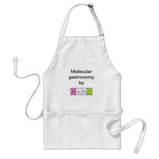 Barney periodic table name apron