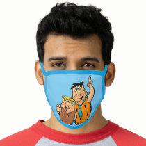 Barney Rubble and Fred Flintstone Face Mask