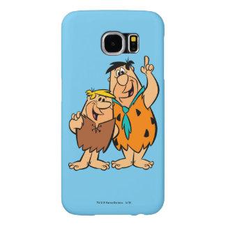 Barney Rubble and Fred Flintstone Samsung Galaxy S6 Case