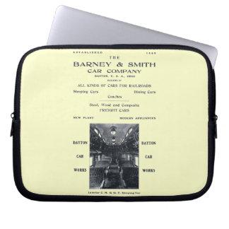 Barney & Smith Railroad Car Company 1906 Laptop Computer Sleeve
