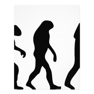 barney stinson evolution letterhead