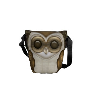 Barney The Barn Owl Messenger Bag