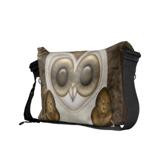Barney The Barn Owl Personalized Courier Bags