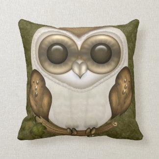 Barney The Barn Owl Pillow