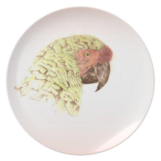 Barney the Parrot Dinner Plate