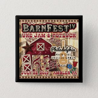 Barnfest IV Souvenir Button