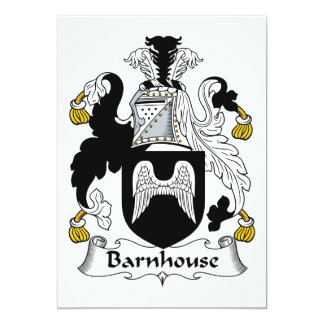 Barnhouse Family Crest Card