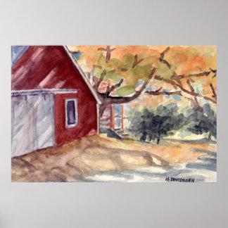 BARNHOUSE - POSTERS - CANVAS ART - H DAVIDSOHN