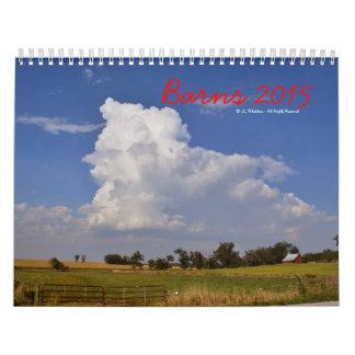 Barns 2015 - Collection One Calendar