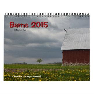 Barns 2015 - Collection Two Calendar