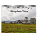 Barns and Old Buildings in Transylvania County Wall Calendar