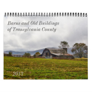 Barns and Old Buildings in Transylvania County Calendar