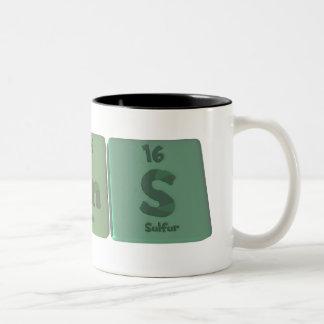 Barns-Ba-Rn-S-Barium-Radon-Sulfur.png Two-Tone Coffee Mug