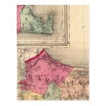 Barnstable, Dukes, Nantucket counties Postcard