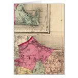 Barnstable, duques, condados de Nantucket Tarjetas