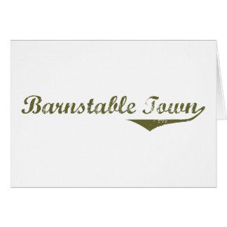 Barnstable Town Revolution tee shirts Card