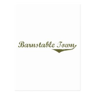Barnstable Town Revolution tee shirts Post Card