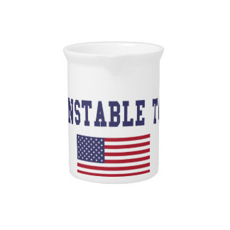 Barnstable Town US Flag Pitcher