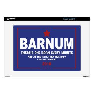 """Barnum '16 skins for 15"""" laptops"""