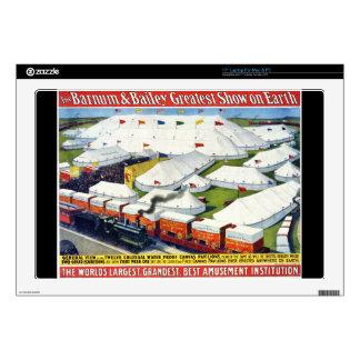 "Barnum and Bailey Circus 1899 17"" Laptop Skins"