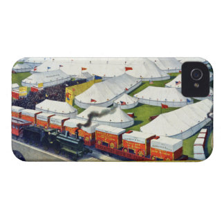 Barnum and Bailey Circus 1899 iPhone 4 Case-Mate Case