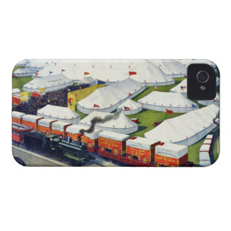 Barnum and Bailey Circus 1899 iPhone 4 Case-Mate Cases