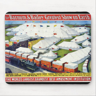 Barnum and Bailey Circus 1899 Mouse Pad