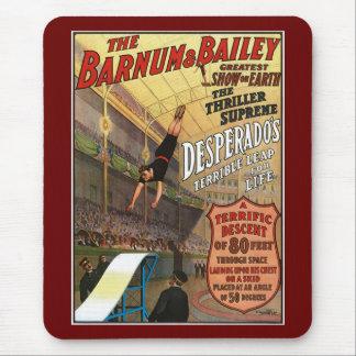 Barnum and Bailey Desperado's Leap for Life Mouse Pad