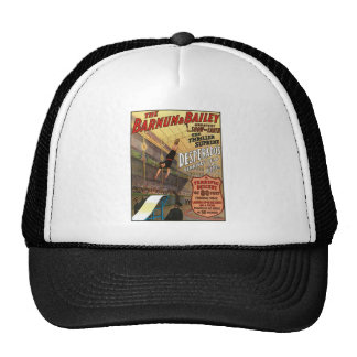Barnum and Bailey Desperado's Leap for Life Trucker Hat