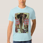 Barnum & Bailey and Ringling Bros Combined - Eleph Tshirt