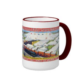Barnum & Bailey Circus - Circa 1900 Ringer Mug