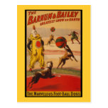Barnum & Bailey Circus Foot-Ball Dogs Post Cards