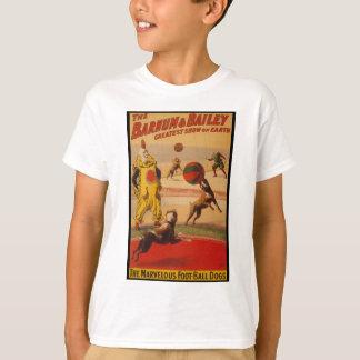 Barnum & Bailey Circus Foot-Ball Dogs T-Shirt