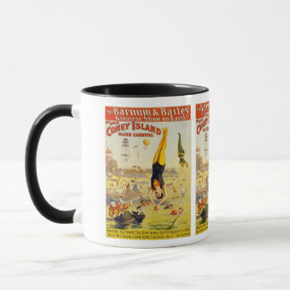 Barnum & Bailey Coney Island Water Carnival Mug