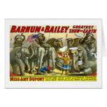 Barnum & Bailey - Elephants Greeting Card