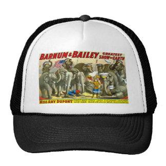 Barnum & Bailey - Elephants Hats