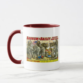 Barnum & Bailey - Elephants Mug