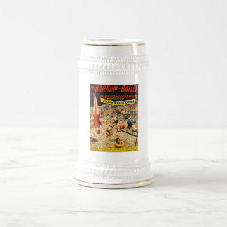 Barnum & Bailey Greatest Show on Earth Beer Stein