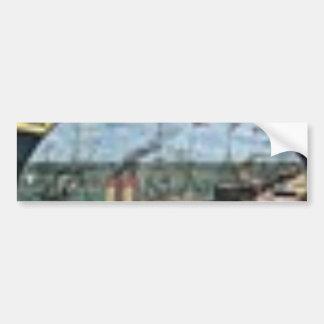 Barnum & Bailey Les Grandes Tentes French Advertis Bumper Sticker
