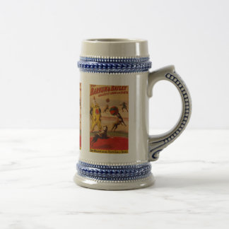 Barnum & Bailey - Marvelous Football Dogs Beer Stein