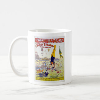 Barnum Bailey New York Coney Island Circus Mugs