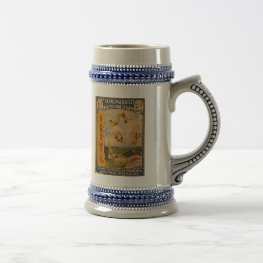 Barnum & Bailey / Trapeze Artists Beer Stein