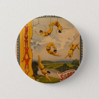 Barnum & Bailey / Trapeze Artists Pinback Button