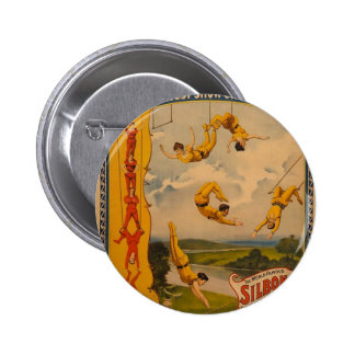 Barnum & Bailey / Trapeze Artists Pinback Button