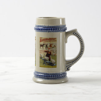 Barnum & Bailey - Wonderful Performing Geese Beer Stein